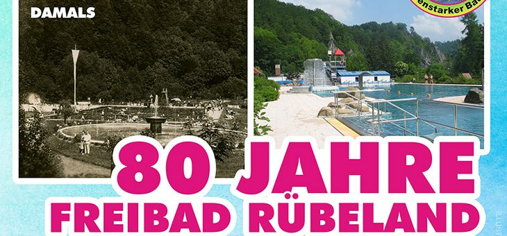 Wir feiern: 80 Jahre Erlebnisbad Bodeperle in Rübeland