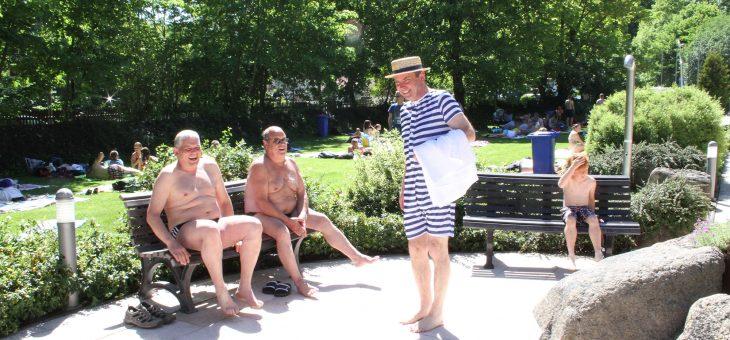 Mit rund 500 Badegästen in die 80ste Freibadsaison